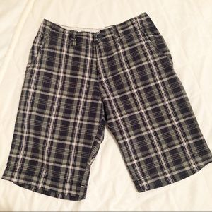 OLD NAVY Men's Plaid Shorts Size 28